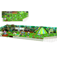 Jungle Gym Themed Amusement Park Kids Indoor Playground with Party Room