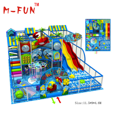 Amazing Multifunction Indoor Soft Play