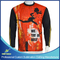 Long Sleeve Sublimation T-Shirts for Sports Wear