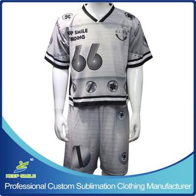 Custom Sublimation Lacrosse Suit with Game Jersey and Game Short