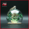 Glass Decoration Round Ball Glass Decoration Multi Inside Designs Half Opening Glass Decoration