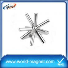 Customized 25*400mm 12000 Guass cheap neodymium magnet bar