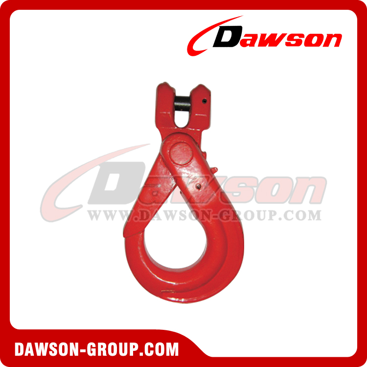 DS082 G80 EUROPEAN TYPE CLEVIS SELFLOCK HOOK - DAWSON GROUP LTD. - CHINA SUPPLIER