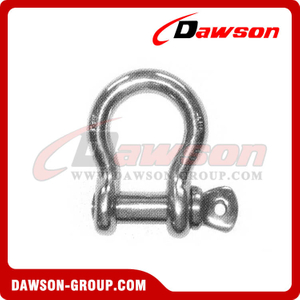 Stainless Steel U.S.Type Screw Pin Chain Shackle