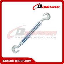 US Type Drop Forged Turnbuckle Hook & Hook