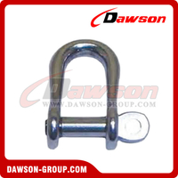 Stainless Steel Semi-Round Shackle