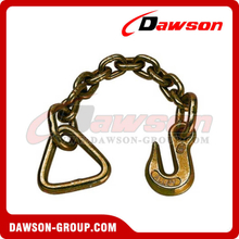 US Standard Chain With Delta and Grab Hook Each On One End