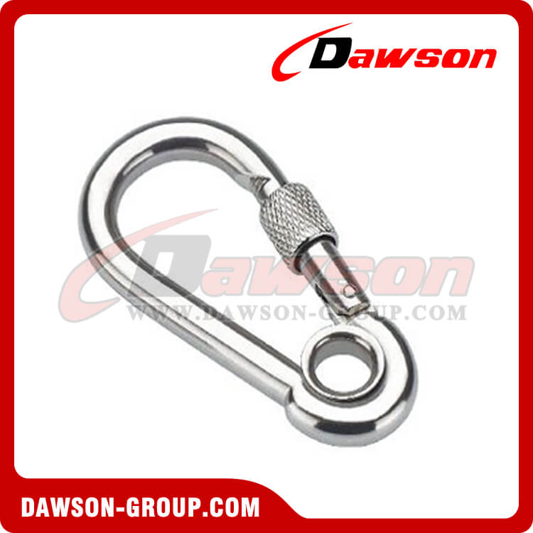 Snap Hook With Eyelet and Screw with Zinc Plated