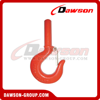 DS297 A319 Forged Alloy Steel Shank Hook, H319 Forged Carbon Steel Hook