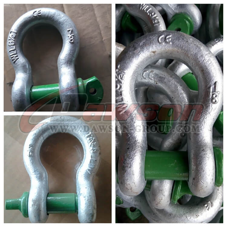 G209 Forged Alloy Screw Pin Anchor Shackle - Dawson Group Ltd. - China Manufacturer, Supplier, Factory