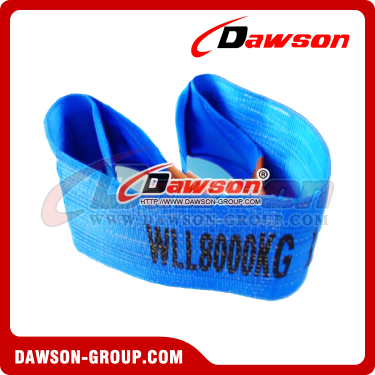 WLL 8 Ton Polyester Webbing Slings - Lifting Slings