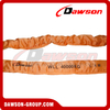 WLL 40T Polyester Round Slings