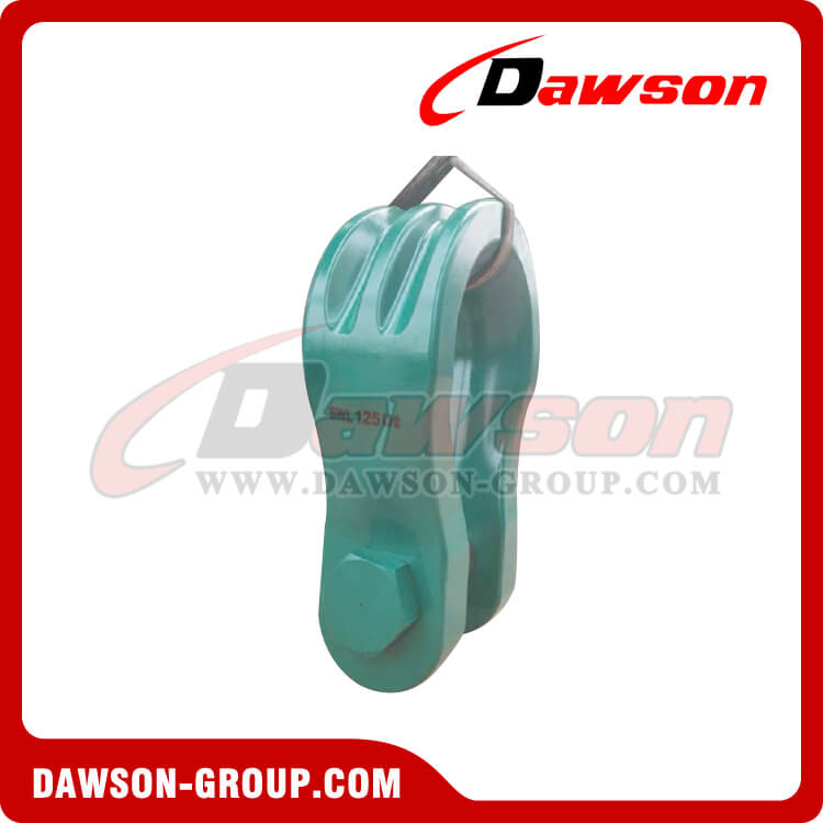 Forged Alloy Steel Wide Shackle for Lifting Sling, Wide Body Shackle