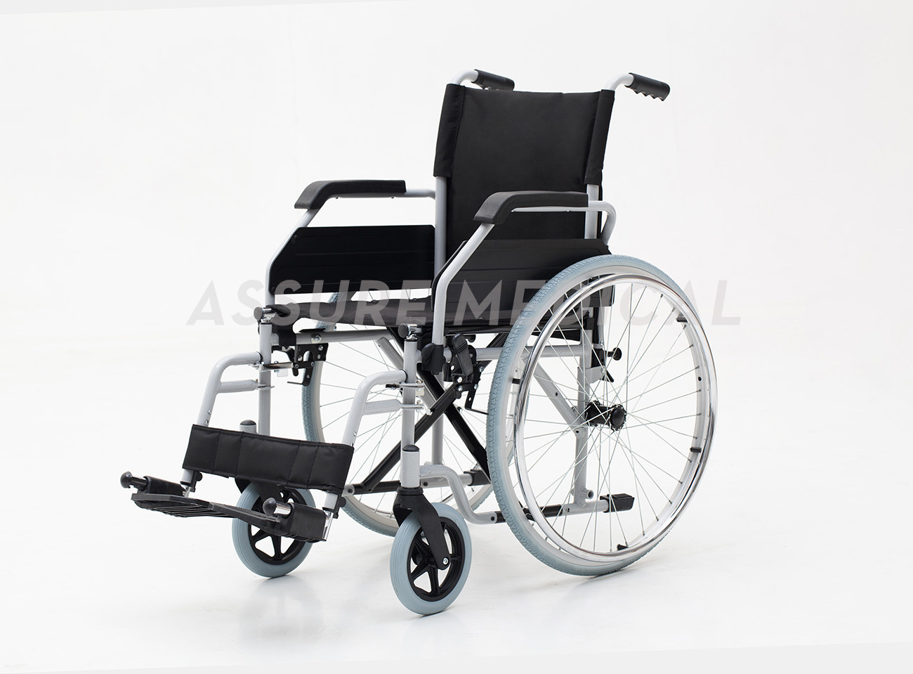 YJ-021D Steel manual wheelchair