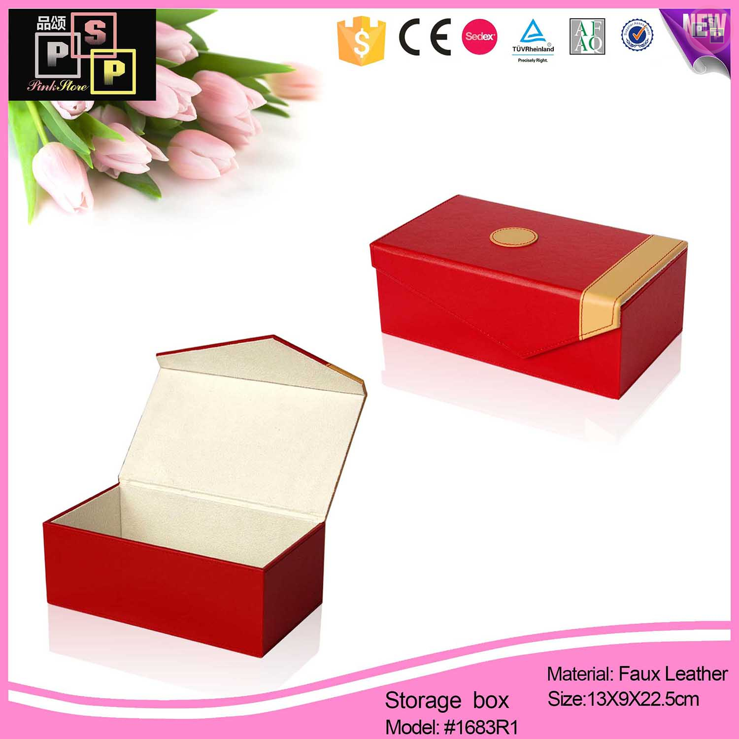 suppliers of hand painted chinese leather boxes