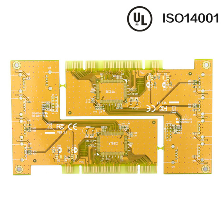 1.6mm double-edged OSP PCB 1OZ