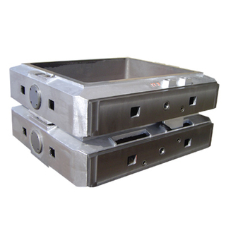 Foundry Moulding Boxes with cast iron material