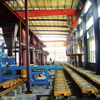 Mechanized Molding Line