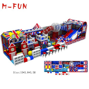 Indoor entertainment soft playground for kid