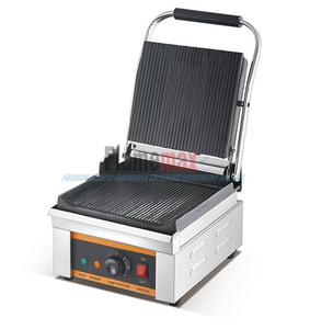 HEG-G3 Single Contact commercial grill sandwich maker(Grooved Up& Down)