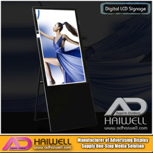 43 Inch Portable Ultra Digital Signage LCD Screen Ads Posters Display