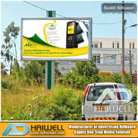 Outdoor Advertising - LED Lighting Backlit Billboards