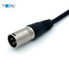 3 Pin Male Plug To Female Microphone Speaker Cable