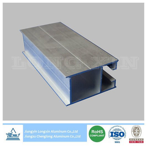 Natural Anodized Aluminium Frame for Windows