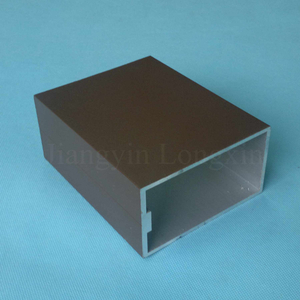 Power Coated Aluminium Profile for Curtain Wall