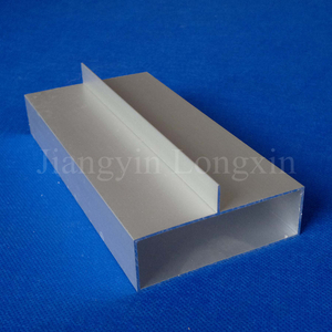 Silver Matt Aluminium Profile for Construction