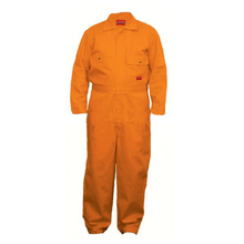 100% Cotton Orange Flame Resistant Safety Workwear Coverall