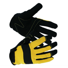 Mechanical Work pu leahter driver Gloves
