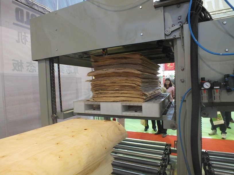 The 4 Feet Automatic CNC Control Log Veneer Peeling Line