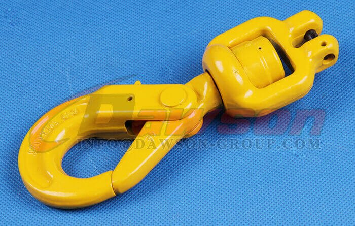 G80 Clevis Swivel Selflock Hook for Lifting Slings - Dawson Group Ltd. - China Factory, Supplier