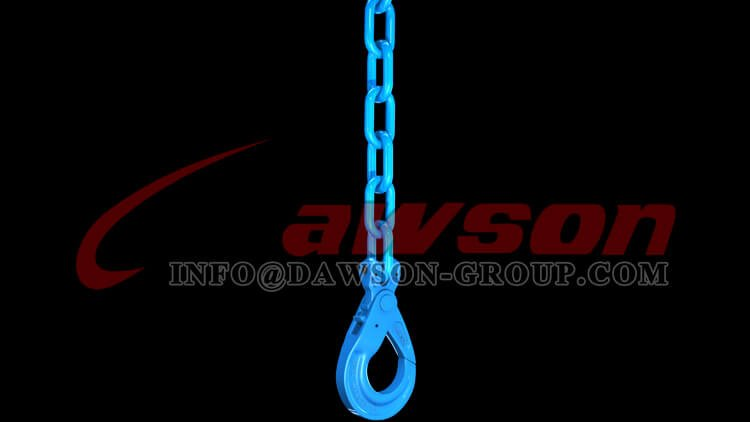 Application of G100 European Type Clevis Self-Locking Hook - Dawson Group Ltd. - China Supplier