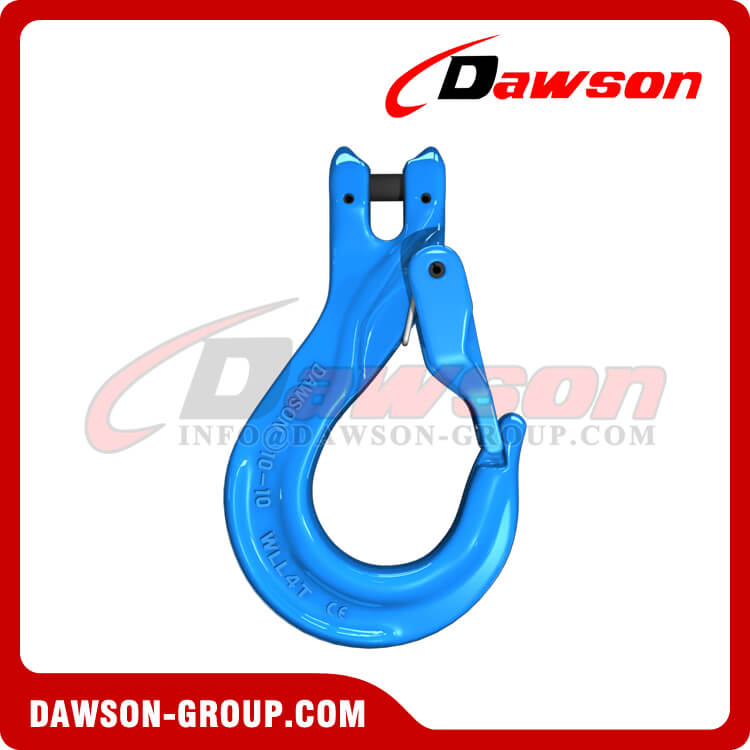 DS1025 G100 Clevis Sling Hook with Cast Latch for Chain Slings