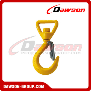DS787 Forged Super Alloy Steel Swivel Hook for Web Slings