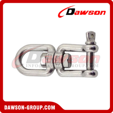Stainless Steel Eye and Jaw Swivel