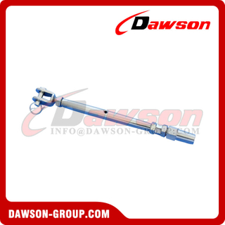 Rigging Screw with Swageless Fork, Stainless Steel Fork Rigging Screw