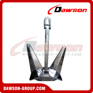 Stainless Steel 316 N-Pool Boat Anchor / SS 316 Marine Ship Anchor