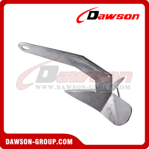 Heavy Duty Hot Dip Galvanized Fixed Head Plough Anchor / H.D.G. Delta Anchor for Boat