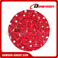Grade 80 D-Shape Forestry Chain, G80 Welded Forestry Link Chain