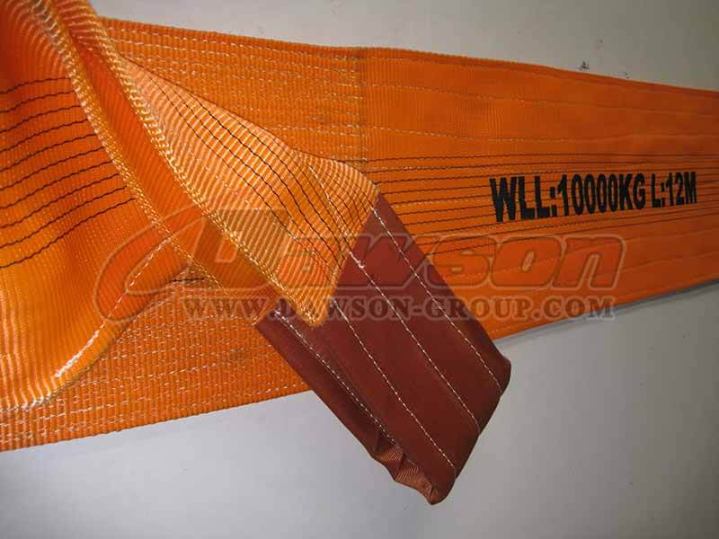 China Dawson WLL 20 Ton Polyester Webbing Slings - Factory, Manufacturer