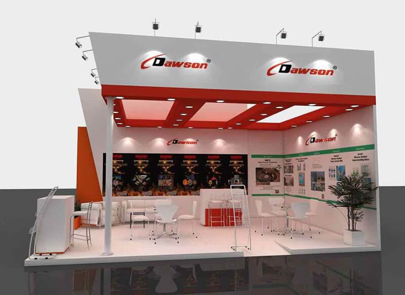 China DAWSON - Brazil Feicon Batimat 2019 Show - Lifting & Rigging Solutions Supplier. Factory