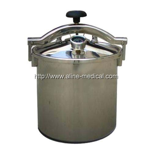 PORTABLE PRESSURE STEAM STERILIZER