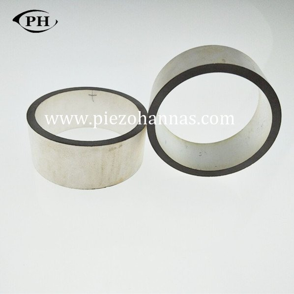 Piezresistive Pzt Piezo Ring Piezoelectric Transducer Crystals for Ultrasonic cleaner