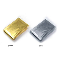 First-Aid Devices Type Survival Foil Emergency Mylar Rescue Thermal Blanket Survival Blanket