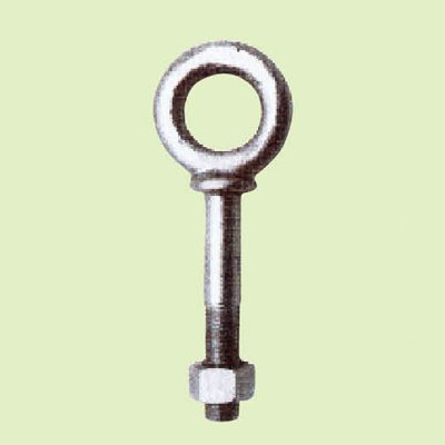 FORGED EYE BOLT WITH HEX. NUT SHOULDER TYPE