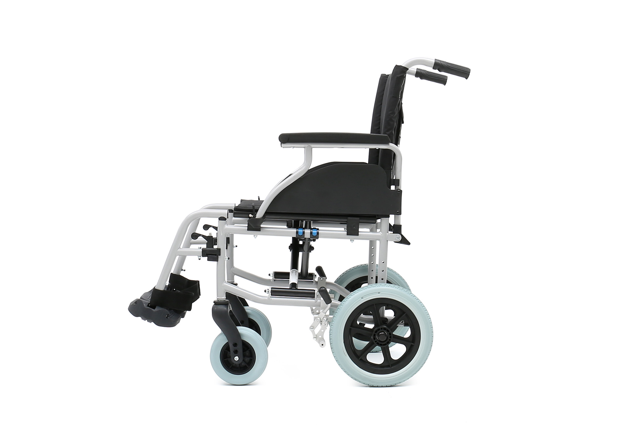 YJ-037B European Style steel transit wheelchair