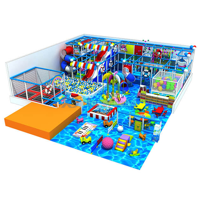 Ocean Themed Entertainment Kids Indoor Playground Equipment